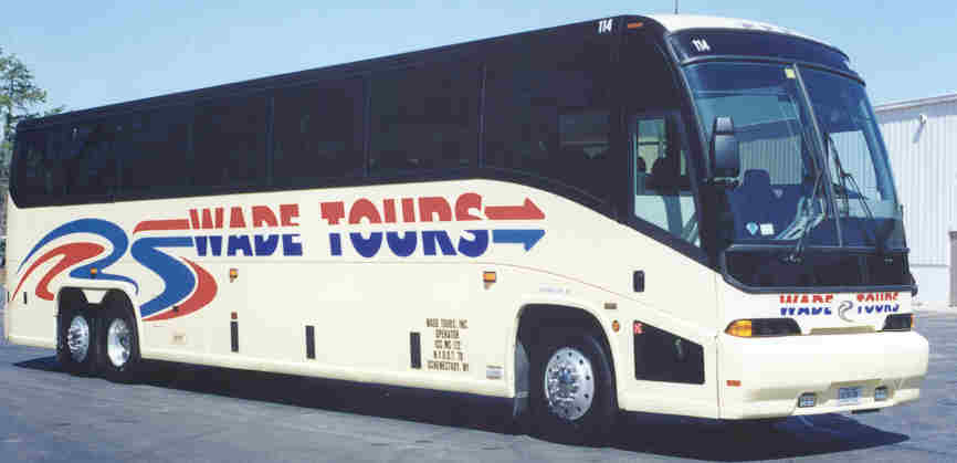 Photo of Wade Tours bus